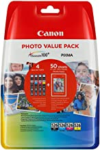 Canon CLI-526 B/C/M/Y Standard Capacity, 4-pack, 2448019 (Standard Capacity, 4-pack Blister)