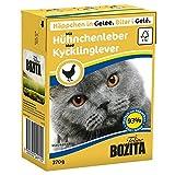 Bozita   Feline Häppchen in Gelee mit Hühnchenleber   16 x 370 g