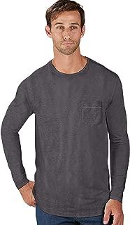 R18 Stretch Cotton Long Sleeve Essential Crewneck