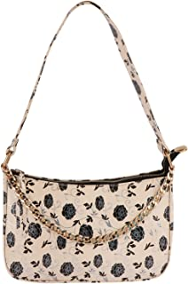 GM CREATIONS® PU Synthetic Leather Casual Stylish Fashionable Modern Floral Printed Design Latest Trendy Cross-body side S...