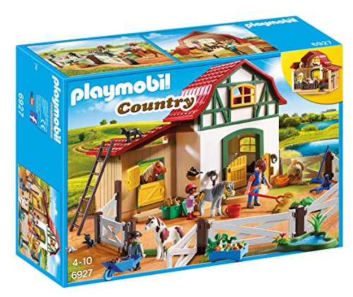 Playmobil 6927 Country Pony Farm, for Children Ages 4+