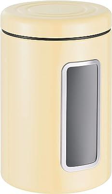WESCO (ウェスコ) 容器 アーモンド 2L ストレージキャニスター ペーパーナプキン付 321206-23