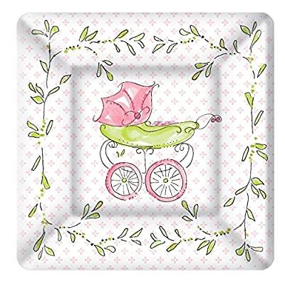 Boston International Ideal Home Range Dining Paper Plates Baby Carriage
