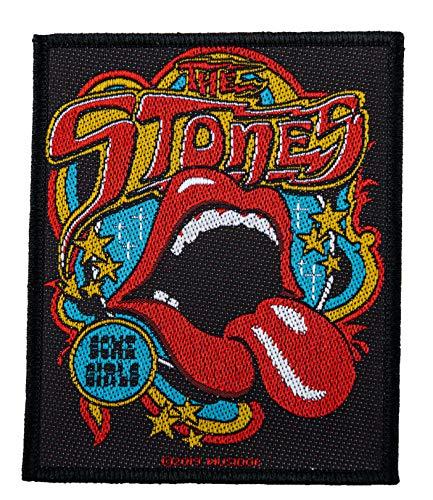 The Rolling Stones Some Girls Aufnäher Patch Gewebt & Lizenziert !!
