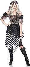 LEG AVENUE(レッグアベニュー) Ghost Pirate ドレス アームパフ ヘッドラップセット SM グレー /ブラック 85561
