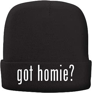 BH Cool Designs got Homie? - Adult Comfortable Fleece Lined Beanie