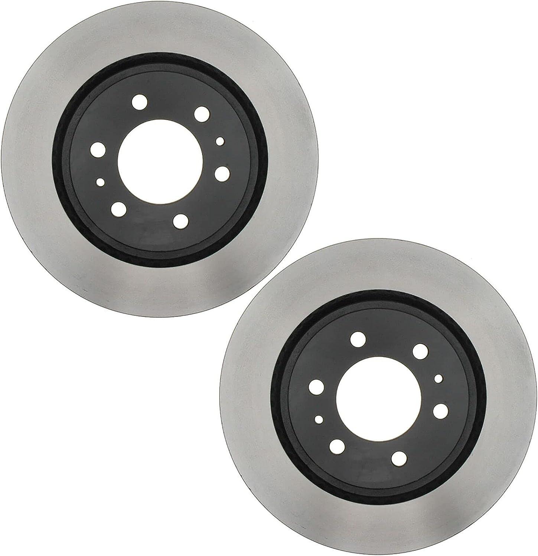 Replacement Ranking TOP5 Value Front Disc Rotor Brake Set Elegant