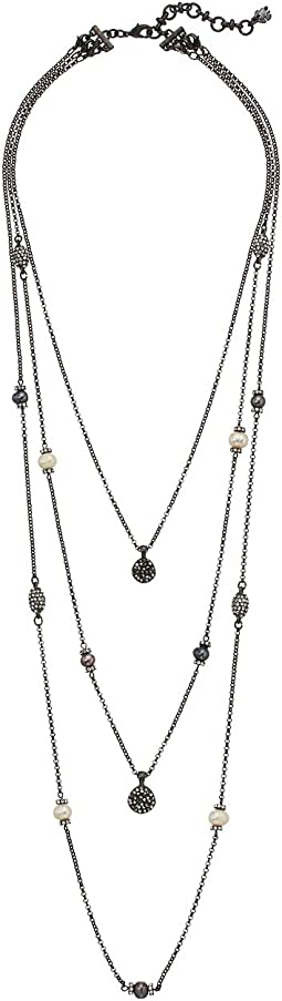 Lucky Brand - Pearl Lucky Layer Necklace