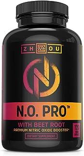 Zhou 一氧化氮*品,含有L-精氨酸、L-瓜氨酸、α-酮戊二酸和甜菜萃取物。 含有120粒植物胶囊。