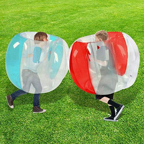 SUNSHINE-MALL Bumper Balls for Kids,Inflatable Buddy Bubble Balls Sumo Game,Giant Human Hamster...