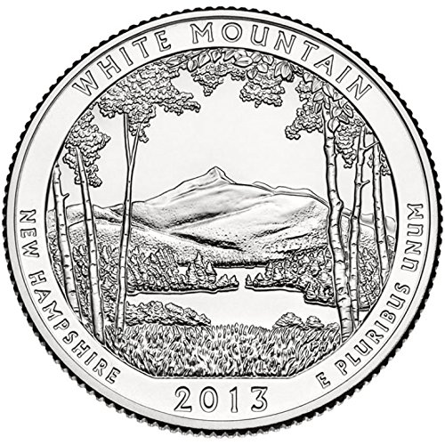 2013 D White Mountain National Park – D 40 Coin Bankroll Uncirculated