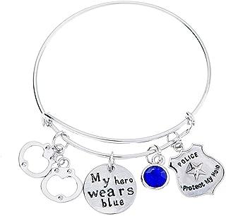 police girlfriend bracelet