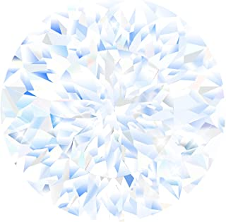 1.0ct 6.5mm Moissanite Stone Loose Simulated Diamond D Colorless Brilliant Round Cut VVS1 Clarity Gemstones for Engagement...
