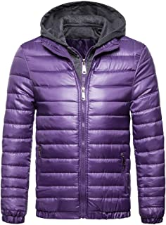 d2c7b8b3a Amazon.com: Purples - Down & Down Alternative / Jackets & Coats ...