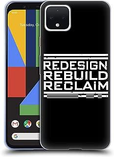 Official WWE Redesign, Rebuild, Reclaim Seth Rollins Soft Gel Case Compatible for Google Pixel 4