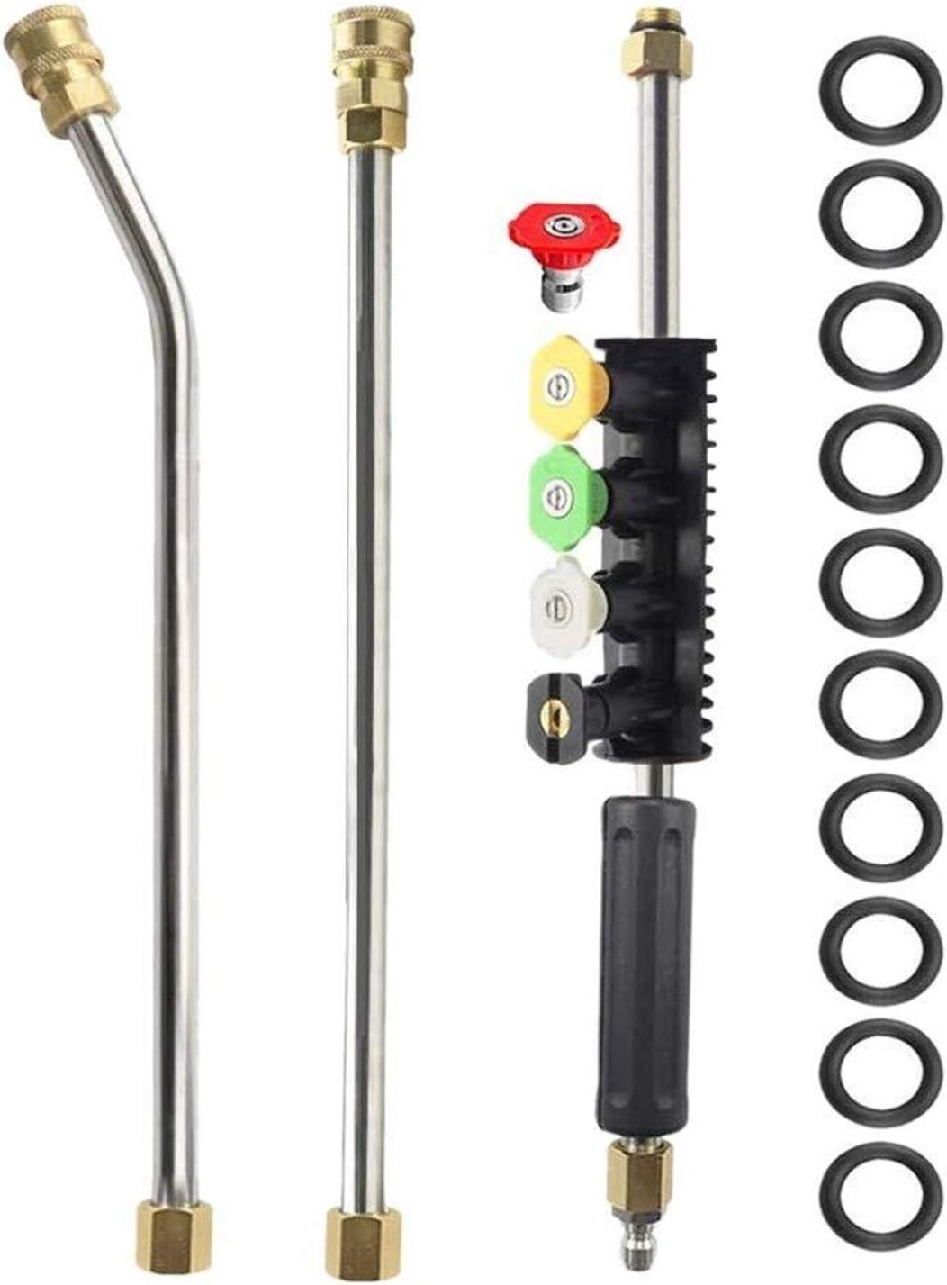 YJYGR Pressure Washer Regular store Extension Wand Lance 45 Soldering Power Noz