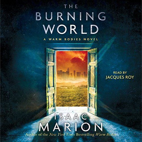The Burning World audiobook cover art