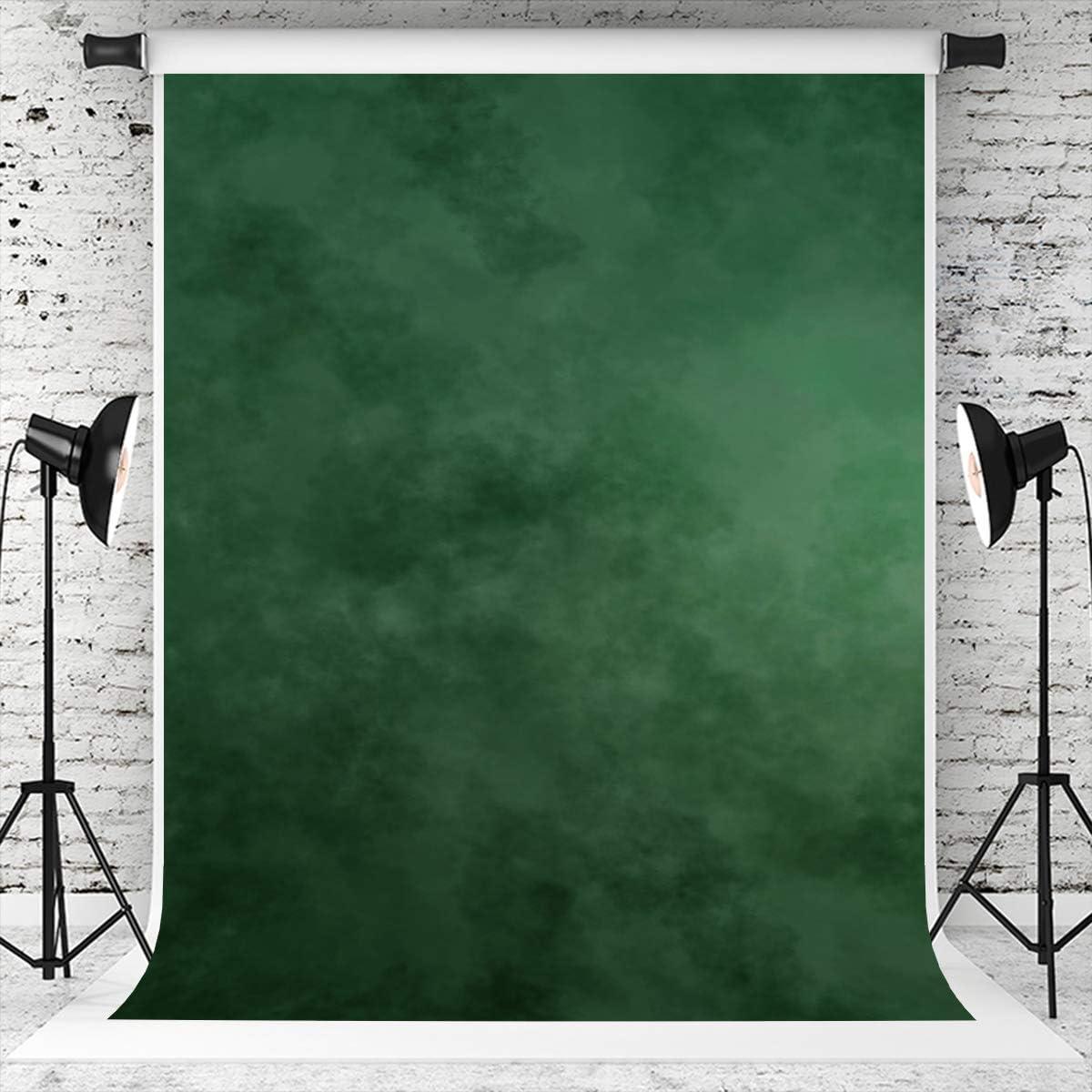 Kate 8×8ft Green Weekly update Backdrop Philadelphia Mall Muslin Background Dark Abstract