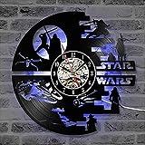 "Cheemy Joint Star Wars Vinyl-Wanduhr LED 12""Vinyl-Schallplatte"