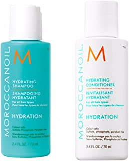 moroccan oil hydrating shampoo & conditioner 7oml Travel or Trial pack