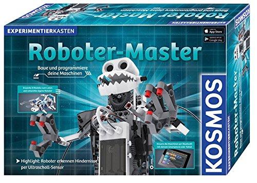 Roboter-Master: EXPERIMENTIERKASTEN / Baue und programmiere deine Maschinen / Erwecke 8 Modelle zum Leben und entwickle eigene Roboter / Steuere die ... / 10 Experimente / 8 Modelle / 230 Teile