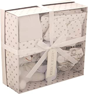 Newborn 7 Piece Luxury Boxed Gift Set, each box contains 1 x