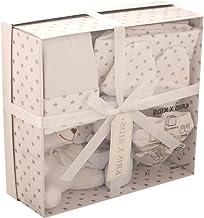 Set de regalo de 4 prendas, de 0 a 3 meses- blanco Stars White Talla:recién nacido