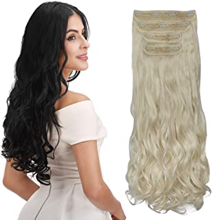 Best clip in hair extensions over braids Reviews