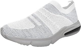 CYGGA Damen Leicht Gittergewebe Luftkissen Plattform Turnschuhe Atmungsaktiv Weich Sportschuhe Lässig Schuhe Laufschuhe St...