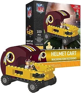 Oyo Sportstoys NFL Washington Redskins Sports Fan Bobble Head Toy Figures, Maroon/Yellow, One Size