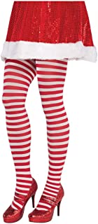 Candy Stripe Womens Adult Costume Tights