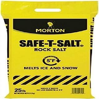 Safe-T-Salt Rock Salt 25.0 LB for Snow