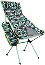 Light Folding Chair Outdoor Aluminum Alloy Camouflage Folding Beach Chair Multifunctional Mountain Camping Leisure Backres...