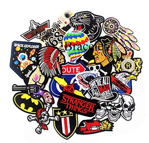 25 Pcs Fashion Hippie Punk Badges P…