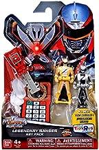 Power Rangers Super Megaforce - Operation Overdrive Legendary Ranger Key Pack, Red, Yellow, Silver
