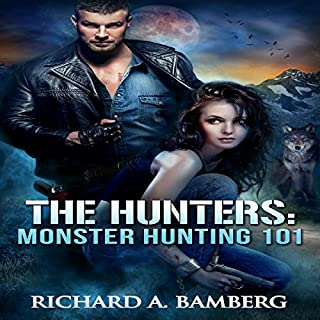 Monster Hunting 101 audiobook cover art