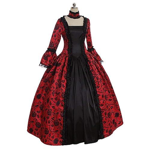 ac17d70cf1eb 1791's lady Women's Victorian Rococo Dress Inspiration Maiden Costume NQ0032