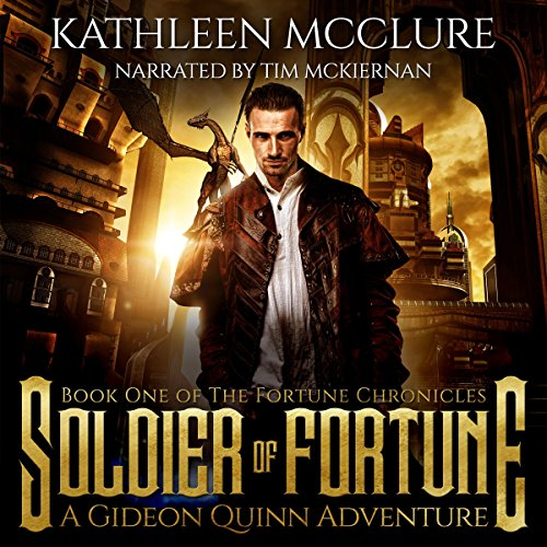 Soldier of Fortune: A Gideon Quinn Adventure audiobook cover art