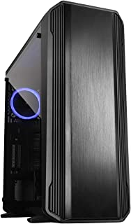 Raidmax Magnus Z23 Full Tower Computer Gaming Case Tempered Glass, 120 mm ARGB Fan and ARGB Hub Controller Included (Black)