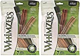 (2 Pack) Whimzees Large Stix Dog Treats (7 Count Per Pack)