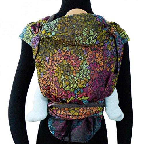 DIDYMOS Meh-Dai/Mei Tai (DidyTai) Baby Carrier Mosaic (Organic Cotton), One Size