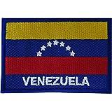 Venezuela-Flagge zum Aufbügeln oder Aufnähen, Südamerika, für Kleidung, Tasche, besticktes Abzeichen