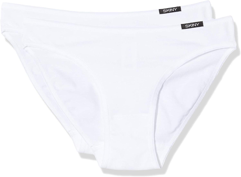 2er Pack , Skiny Damen Advantage Cotton Rio Slip Taillenslip