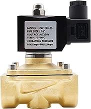 """LHQ-HQ Normaal gesloten solenoïde klep voor waterolie lucht, AC220V DC12V DC24V AC24V, G3 / 8""""TOG2"""" messing elektrische ma..."""