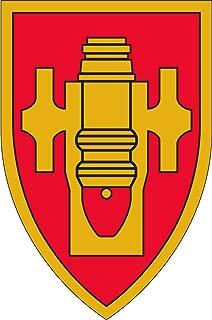 Military Vet Shop US Army Field Artillery School Window Bumper Sticker Decal 3.8