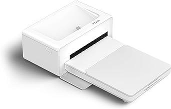 iHome Photo Printer Dock, Full Size 4x6 inch Printouts (White)