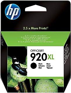 Hp High Yield Original Ink Cartridge - Cd975ae/bgx 920xl, Black