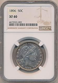 1896 silver half dollar