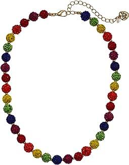 Fireball Collar Necklace