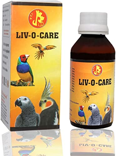 Pet Care International (PCI) Liv-O-Care to Help Detoxify Liver System for Healthy Bird Healthcare (Pack of 2) (100ml)